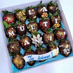 Cutii Fructe in Ciocolata pentru El