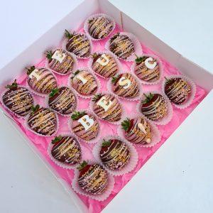 Cutii Fructe in Ciocolata